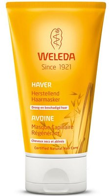 haver herstellend haarmasker - weleda - 150 ml