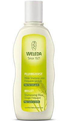 pluimgierst milde shampoo - weleda - 190 ml