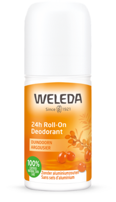 deodorant - 24h roll-on duindoorn - weleda - 50 ml