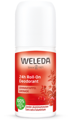 deodorant - 24h roll-on granaatappel - weleda - 50 ml
