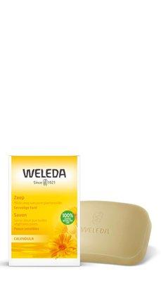 calendula plantenzeep - weleda - 100 gram