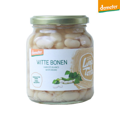 witte bonen demeter - 350 gram