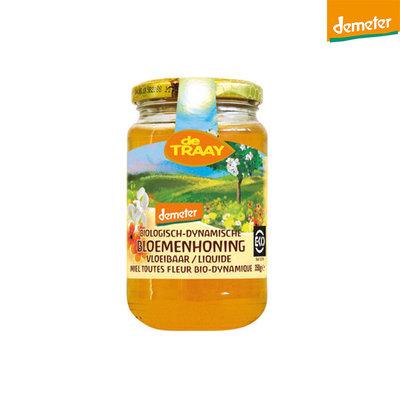 bloemenhoning vloeibaar demeter - 350 gram