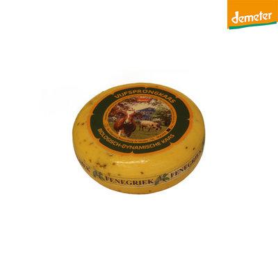 de vijfsprong kaas fenegriek demeter - 500 gram (afwijking 50 gram)