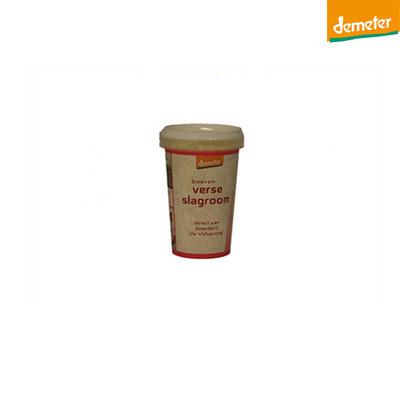 de vijfsprong slagroom demeter - 200 gram
