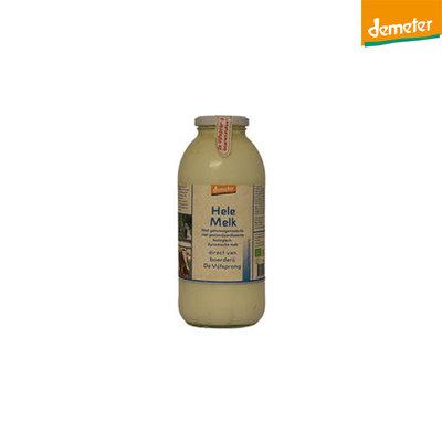 de vijfsprong melk volle demeter - 1 liter