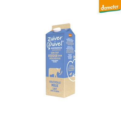 melk halfvolle demeter - 1 liter