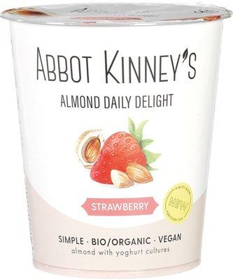 amandelyoghurt - daily delight strawberry - 400 ml