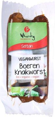 vegan boeren knakworst - 150 gram
