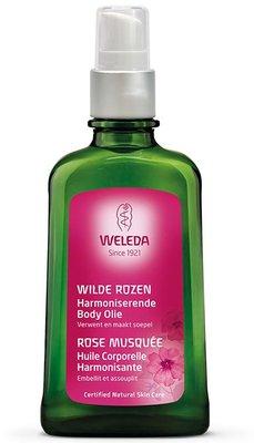 wilde rozen harmoniserende body olie - weleda - 100 ml