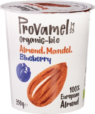 amandelyoghurt blauwe bes - provamel - 350 gram