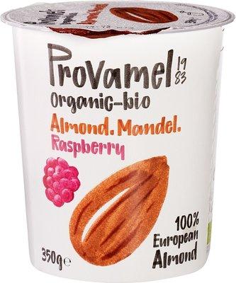 amandelyoghurt framboos - provamel - 350 gram