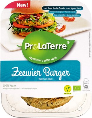 zeewier burger - 150 gram
