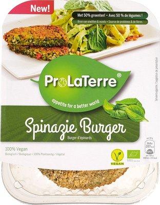 spinazie burger - 160 gram
