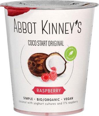 kokosyoghurt  framboos - abbot kinney's - 400 ml