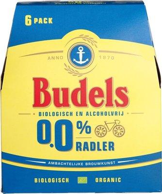 bier - 0,0% radler - budels - 6-pack