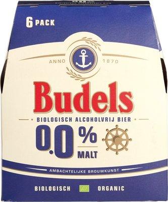 bier - 0,0% malt - budels - 6-pack