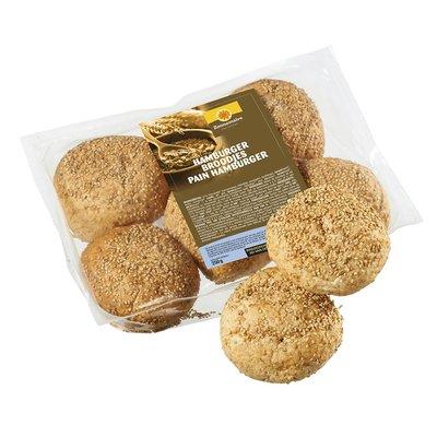bio hamburgerbroodjes - 5 stuks (koopjeshoek - tht)