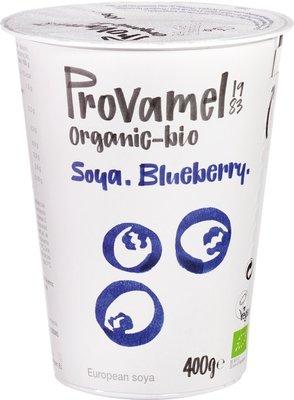 soja yoghurt blauwe bosbes (blueberry) - 400 gram