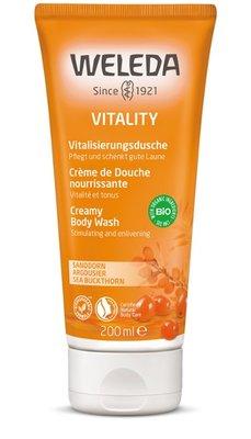 duindoorn vitality douchecreme - weleda - 200 ml