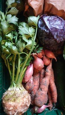 groentekrat - 2 personen