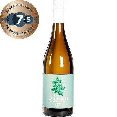 wijn wit - blanco - ortiga - 750 ml