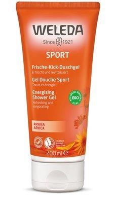 douche - arnica sport douchegel - weleda - 200 ml