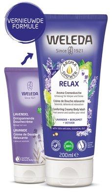 douche - aroma shower relax - weleda - 200 ml