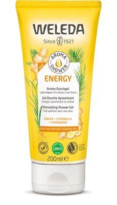 douche - aroma shower energy - weleda - 200 ml