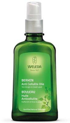 berken anti cellulite olie - weleda - 100 ml