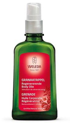 granaatappel regenererende body olie - weleda - 100 ml