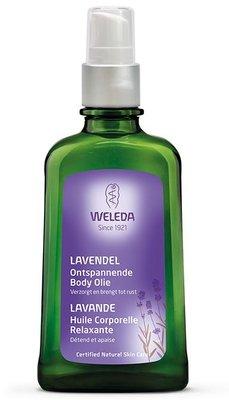 lavendel ontspannende body olie - weleda - 100 ml