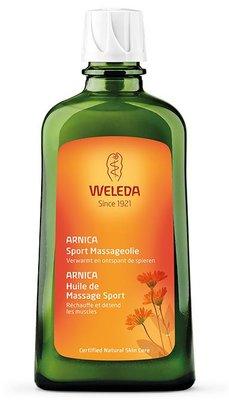 arnica sport massageolie - weleda - 100 ml