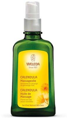 calendula massageolie - weleda - 100 ml