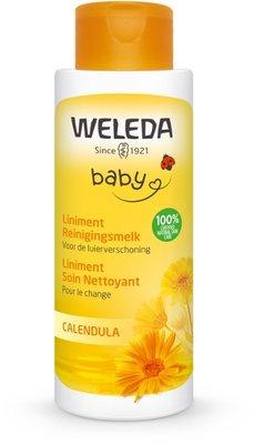baby calendula liniment reinigingsmelk - weleda - 400 ml