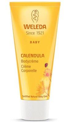 baby calendula bodycreme - weleda - 75 ml