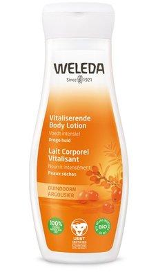 duindoorn vitaliserende body lotion - weleda - 200 ml