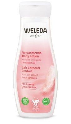 amandel verzachtende body lotion - weleda - 200 ml