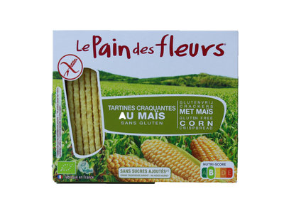 crackers maïs glutenvrij - 150 gram