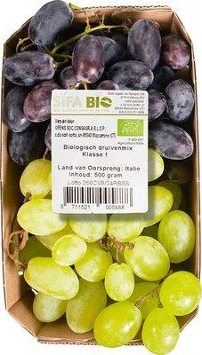 druiven wit en blauw - 500 gram