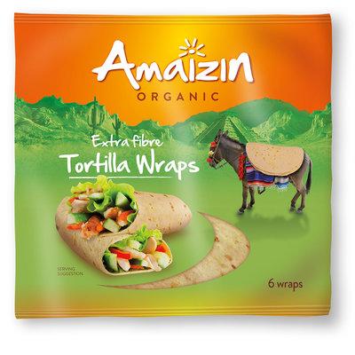 tortilla wraps extra vezel - 6 stuks (koopjeshoek - tht)
