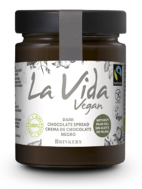la vida vegan chocoladepasta puur - 270 gram
