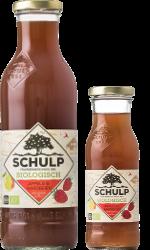 schulp appel & aardbeiensap - 750 ml