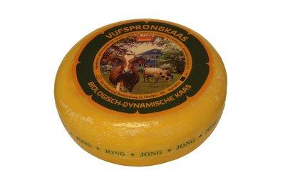 de vijfsprong kaas jong demeter - 500 gram (afwijking 50 gram)