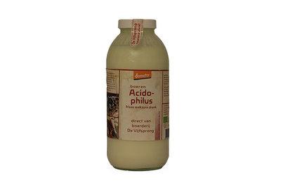 de vijfsprong melk acidophilusmelk (karnemelk) demeter - 1 liter