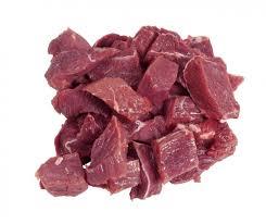 Stoofvleesblokjes Demeter/250 gram