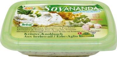 vegan roomkaas kruiden/knoflook - 140 gram