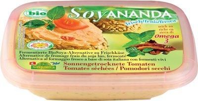vegan roomkaas zongedroogde tomaten - 140 gram
