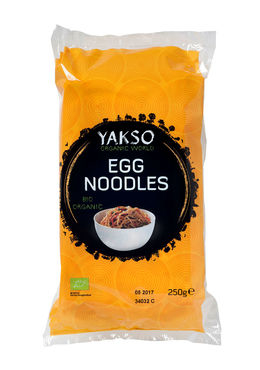 Bio Yakso Egg Noodles (Eiermie) - 250 gram