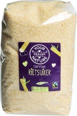 rietsuiker fairtrade - 1 kg